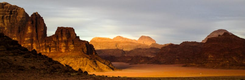 The magic of Wadi Rum desert