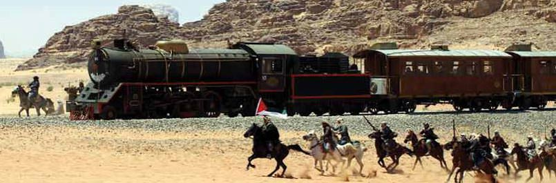 Replay of the Great Arabic Revolt in Wadi Rum
