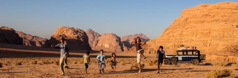 Spark your Dream; the Zapp family in Wadi Rum