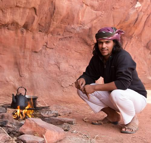 Fawaz Mohammad, owner of Wadi Rum Nomads