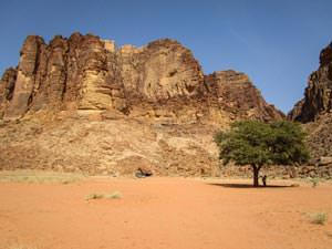 Lawrence spring in Wadi Rum desert