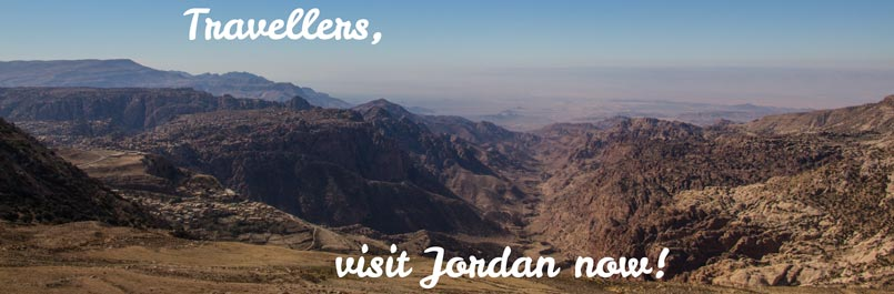 Visit Jordan now and see this view over Dana Biosphere Reserve