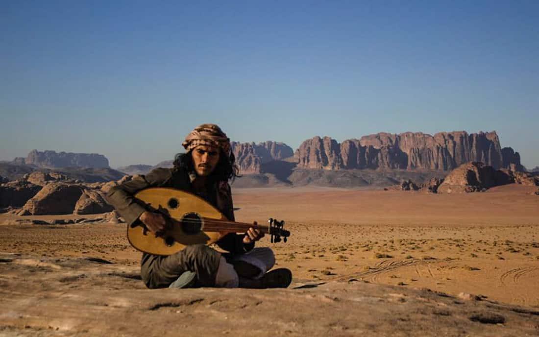 fawaz playing bedouin music