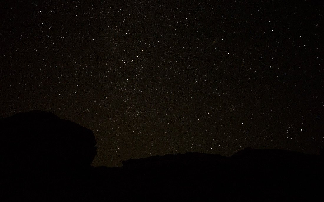 christmas vaction under the stars in wadi rum