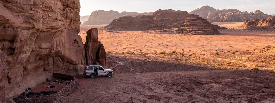 bivouac camping in the wadi rum nomads cave