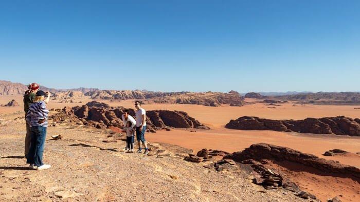 magnificent views over wadi sabet